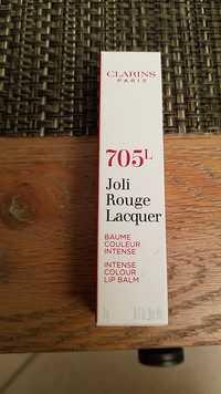 Clarins - 705L - Joli rouge lacquer - Baume couleur intense