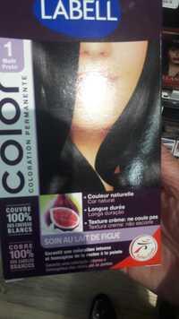 LABELL - Coloration permanente au lait de figue 1 noir preto