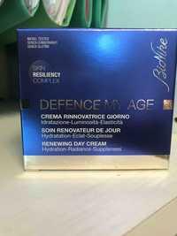 BioNike - Defence my age - Soin rénovateur de jour