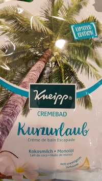 Kneipp - Kurzurlaub - Crème de bain Escapade