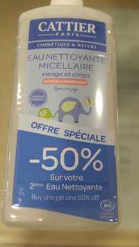 Cattier Paris - Eau nettoyante micellaire