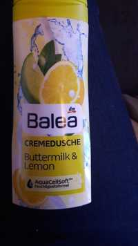 Balea - Cremedusche buttermilk & lemon