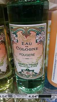 Jardin de France - Eau de Cologne Fougere