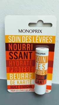 MONOPRIX - Soin des lèvres nourrissant hydrate et protège