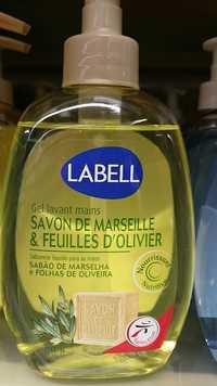 LABELL - Gel lavant mains savon de marseille & feuilles d'olivier