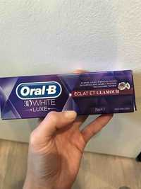 Oral-B - Dentifrice 3D white luxe éclat et glamour
