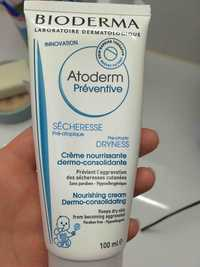 BIODERMA - Atoderm - Crème nourrisante