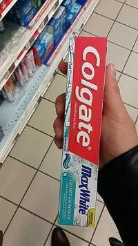 COLGATE - Max white - Dentifrice au fluor