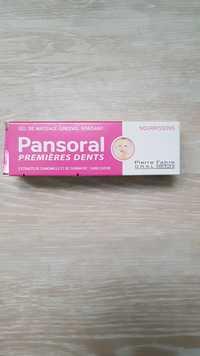 Pierre Fabre - Pansoral premières dents - Gel de massage gingival nourrissons