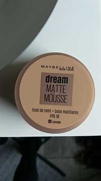 Maybelline - Dream matte mousse - Fond de teint + base matifiante