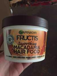 Garnier - Fructis - Smoothing - Macadamia hair food