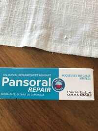 Pansoral - Repair - Gel buccal réparateur et apaisant