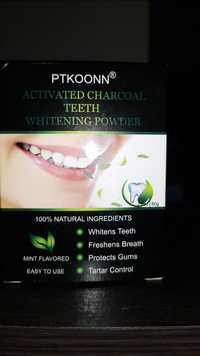 Ptkoonn - Activated charcoal teeth - Whitening powder