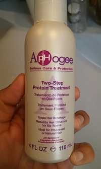 APHOGEE - Two step protein treatment