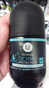 By U - Homme dermo protecteur - Déodorant peaux sensibles 24h
