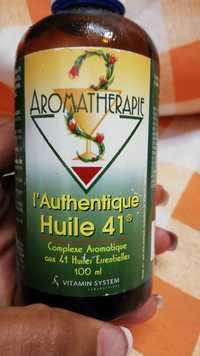 Vitamin System - Aromatherapie - L'Authentique huile 41