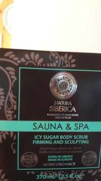 NATURA SIBERICA - Sauna & Spa - Icy sugar body scrub