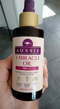 AUSSIE - 3 Miracle oil - Lightweight oil treatment for normal to fine hair