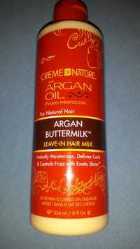 Creme of Nature - Argan buttermilk - Leave-in curl milk