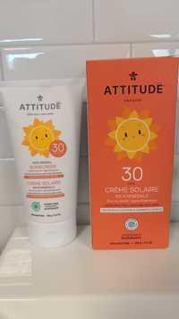 Attitude - Crème solaire tout-petits FPS 30