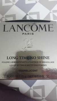 Lancôme - Long time no shine - Poudre libre matifiante & fixatrice de maquillage