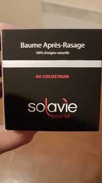 SOLAVIE - Baume après-rasage