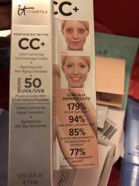 IT COSMETICS - Your skin but better - CC+ Crème correctrice SPF 50+