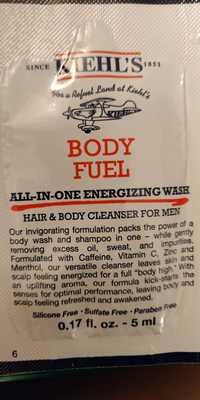 Kiehl's - Body fuel - Hair & body cleanser for men