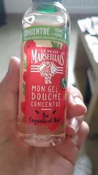 Le petit marseillais - Mon gel douche concentré au coquelicot bio