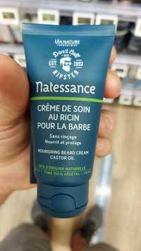 NATESSANCE - Crème de soin au ricin pour la barbe