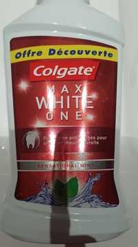 Colgate - Max white one - Bain de bouche