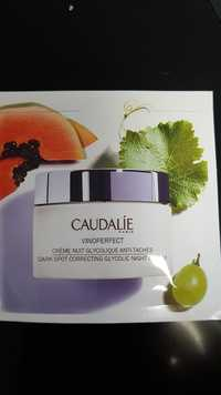 Caudalie - Vinoperfect - Crème nuit glycolique anti-taches