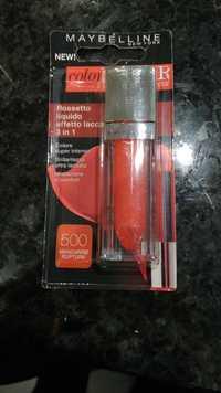 Maybelline New York - Color Elixir - Rossetto liquido 500 Mandarine rupture