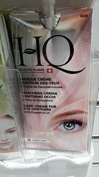 HQ qualité Suisse - Masque crème contour des yeux