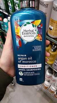 HERBAL ESSENCES - Repair argan oil of morocco après-shampooing