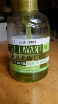 MONOPRIX - Gel lavant - Savon de Marseille feuille d'olivier
