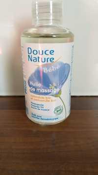 Douce Nature - Bébé - Huile de massage