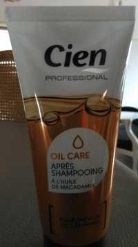 CIEN PROFESSIONAL - Oil care - Après-shampooing à l'huile de macadamia