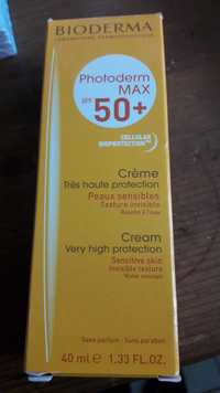 Bioderma - Photoderm max SPF 50 + - Crème peaux sensible