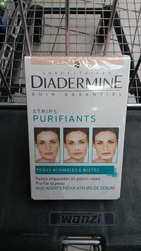 DIADERMINE - Strips purifiants peaux normales & mixtes