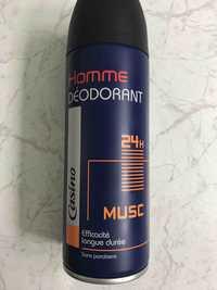 CASINO - Homme - Déodorant musc 24h
