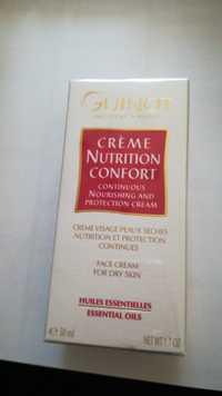 Guinot - Huiles essentielles - Crème nutrition confort