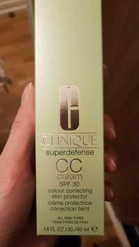 CLINIQUE - CC cream - Crème protectrice correction teint  SPF 30