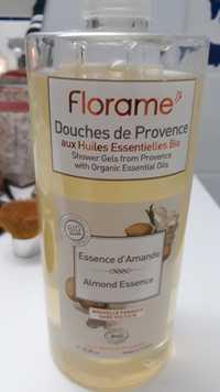 FLORAME - Essence d'amande bio - Douches de Provence