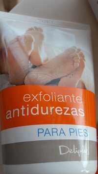 Deliplus - Exfoliante antidurezas para pies