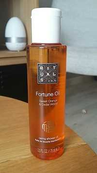 RITUALS - Swetet orange & cedar wood - Fortune oil