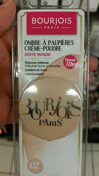 Bourjois - Ombre à paupières crème-poudre