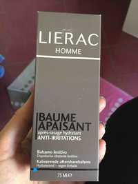 Liérac - Homme - Baume apaisant après rasage