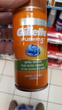 GILLETTE - Fusion 5 - Gel à raser peau ultra sensible