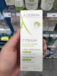 A-DERMA - Cytelium - Lotion asséchante apaisante